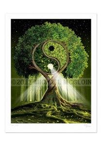 Yin Yang tree by http://treecircus.bigcartel.com/product/yin-yang-tree-thetwins