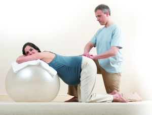 General pressure on the sacral points: From Beautiful Birth by Suzanne Yates