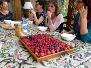 Fi's fruit platter