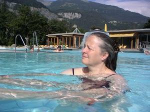 Exploring shiatsu in water, Switzerland
